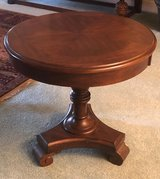 Pedestal Side Table in Beaufort, South Carolina