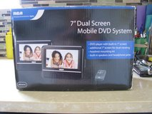 RCA 7in dual mobile DVD system in Aurora, Illinois