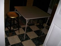 CARD TABLE with; stools in Hampton, Virginia