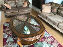 Living Room Set - 4 items - Sofa, Loveseat, Coffee Table, End Table in Okinawa, Japan