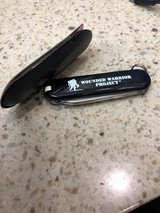 Wounded Warrior Project Swiss Army Knife in Camp Pendleton, California
