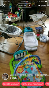 Lot of baby items-price reduced in Fort Carson, Colorado