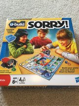 New U-build Sorry game in St. Charles, Illinois