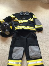 Fireman costume in Aurora, Illinois