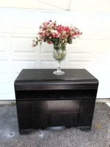 Nice Sturdy Antique Waterfall Dresser, Buffet, Entertainment Center in Oswego, Illinois