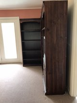 3 Tall bookcases and TV in Kingwood, Texas