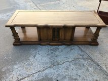 "Exlong coffee table 62x23"" 18"" tall in Fort Riley, Kansas"