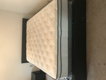 Full size bed with mattress in Lawton, Oklahoma