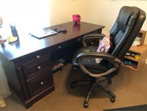 desk and chair in Fort Campbell, Kentucky