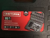 New 95 Piece Craftsman Mechanics Tool Set in Fort Knox, Kentucky