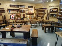 Reclaimed Vintage Barnwood Hand Crafted Pieces. Mantels Benches in Chicago, Illinois