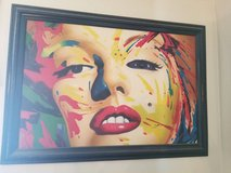 Beautiful Marilyn Painting approx. 3 1/2 ft x 4 1/2 ft in heavy wooden frame in Colorado Springs, Colorado