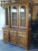 Solid Oak Hutch~~Reduced!~~ in Fort Drum, New York
