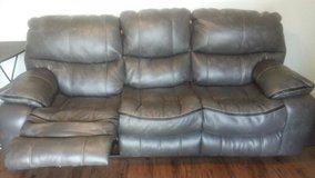 2 Catnapper faux leather reclining couches in Fort Campbell, Kentucky
