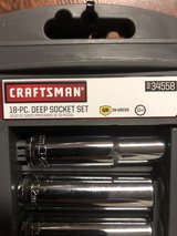 Craftsman 18 Piece Deep Well Socket Set in Fort Knox, Kentucky