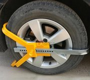 Car Wheel Lock Auto Tire Trailer Clamp Anti-Theft 20 Lock Positions in 29 Palms, California