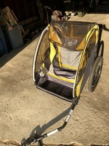 Copilot bike trailer for child in Chicago, Illinois