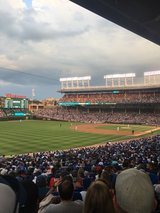 8/11 & 8/12 Cubs Games v Nationals in Chicago, Illinois