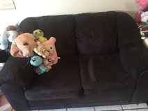 Black couch for sale in 29 Palms, California