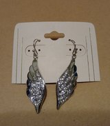 Angel wing earrings -new in Baytown, Texas