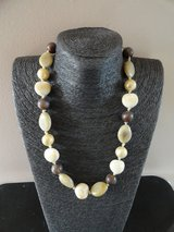 old beaded stone necklace in Lakenheath, UK