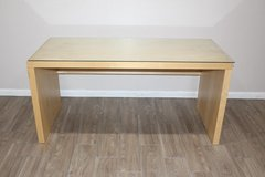 IKEA Desk with Glass top wooden Frame in Spring, Texas