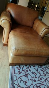 Leather chaise in Lockport, Illinois