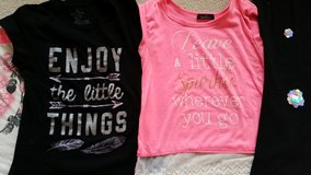 Girls Summer T Shirts like new some new in Westmont, Illinois