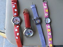Old fashioned character watches in Naperville, Illinois