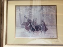 """Marguerite Fields/ Signed lithograph """"Mystic Warriors"""" 42/500 in Naperville, Illinois"""