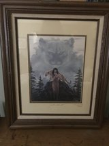 Marguerite Fields Sister of the Cat signed print 191/500 in Bartlett, Illinois