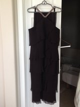 Daymor Couture Silk Dress with Scarf in Elgin, Illinois