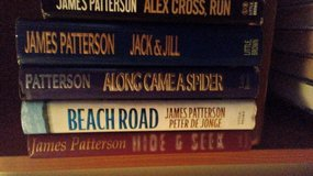 James Patterson books in Lawton, Oklahoma