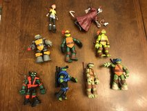 Teenage Mutant Ninja Turtle Action Figures Set #2 in Naperville, Illinois