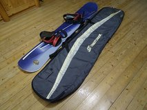 Snowboard 155 by Oxigin, Made in Austria Woodcore, with bindings+bag in Ramstein, Germany