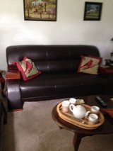 leather sofa in Norfolk, Virginia