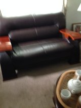 leather love seat in Norfolk, Virginia