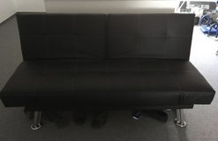 Leather two-seater sofa in Stuttgart, GE