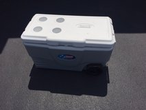 Coleman Cooler - Large w/Wheels in Naperville, Illinois