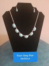 River Song Silver Blue Necklace in Fort Campbell, Kentucky