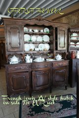 French Louis XV style dining room hutch in Grafenwoehr, GE