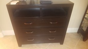 Black Dresser OR TV Stand (Gently Used) ---- OBO! in League City, Texas