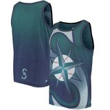 SEATTLE MARINERS Gradient Big Logo Tank Top - (Navy/Aqua) *** NEW *** in Fort Lewis, Washington