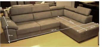 United Furniture - Neuss 2L Sectional including delivery - 4 different colors available in Stuttgart, GE