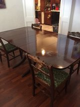 1940's Duncan Fife Dining table and chairs in Lawton, Oklahoma