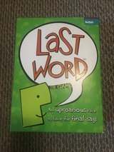 Never Used!  Last Word Board Game in Westmont, Illinois