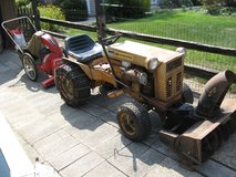 15 HP Montgomery Ward Tractor and attachments. in Naperville, Illinois