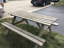 Picnic Table - Reduced in Joliet, Illinois