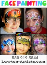Free face painting in Lawton, Oklahoma