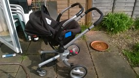 Silver Cross pushchair/car seat - NOW REDUCED in Lakenheath, UK